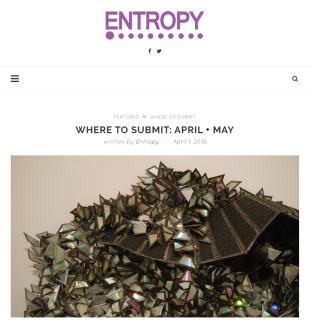 entropy may
