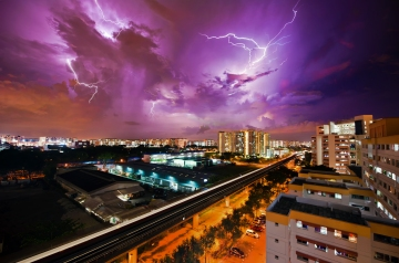 Majestic thunderstorm