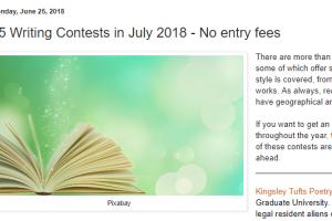Free Writing Contests – Trish Hopkinson